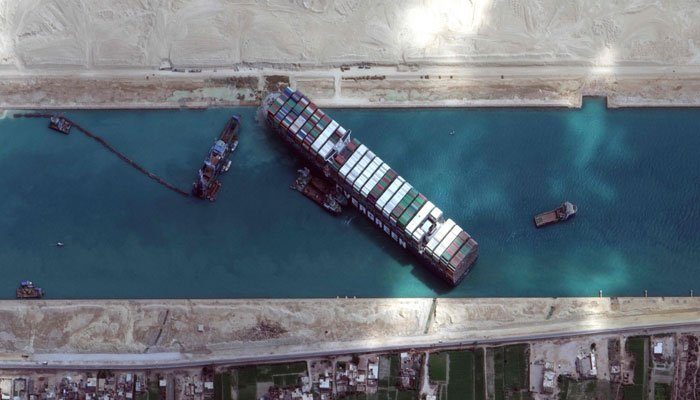 The Closure Of The Suez Canal Affects 15% Of Global Container Shipping Capacity