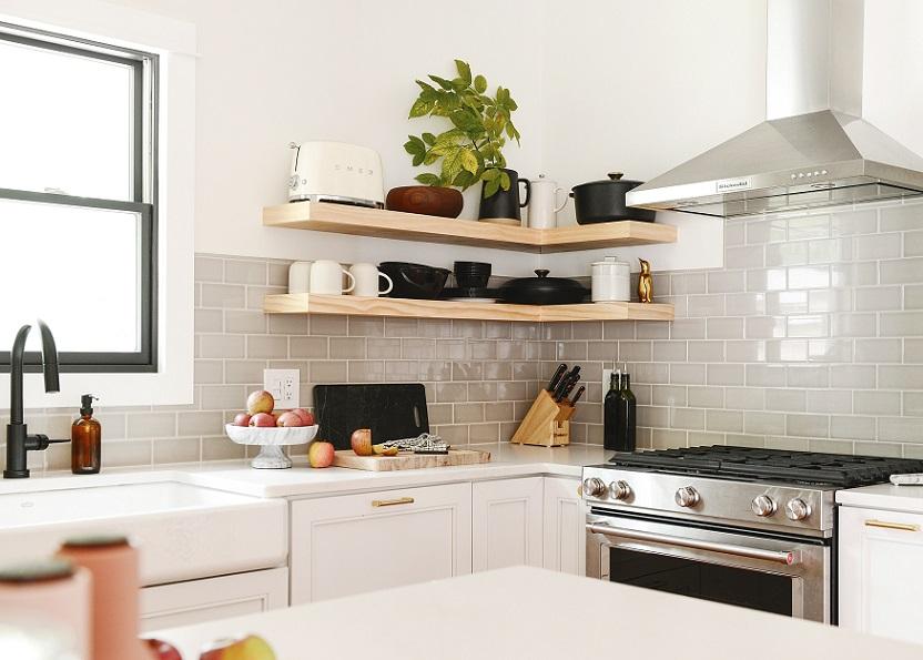 愈來愈多的人喜愛半開放式廚房